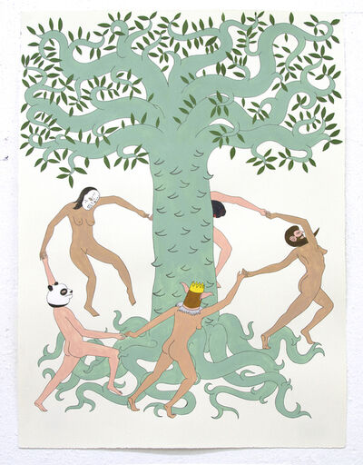 Eduardo Sarabia, 'Plumed Serpent and Other Parties', 2016