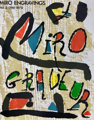 Joan Miró, 'Untitled, Miro Graveur Volume II', 1989