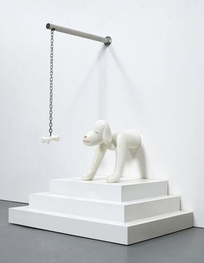 Yoshitomo Nara, 'I Think, Therefore I Am...A Dog', 2003