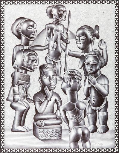 Tsham, 'Le Chef', 2015