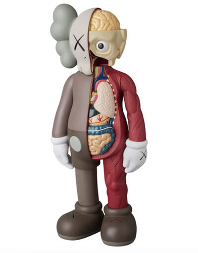KAWS, 'KAWS Companion Brown (Flayed)', 2016