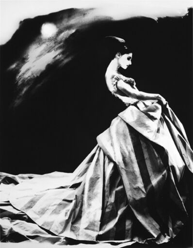 Lillian Bassman, 'Night Bloom, Annelise Seubert, Ball Gown by John Galliano for Haute Couture Givenchy, Paris, The New York Times Magazine', 1996