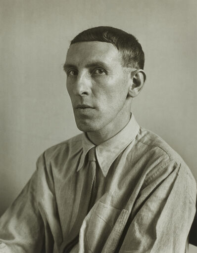 August Sander, 'Painter [Heinrich Hoerle]', 1928
