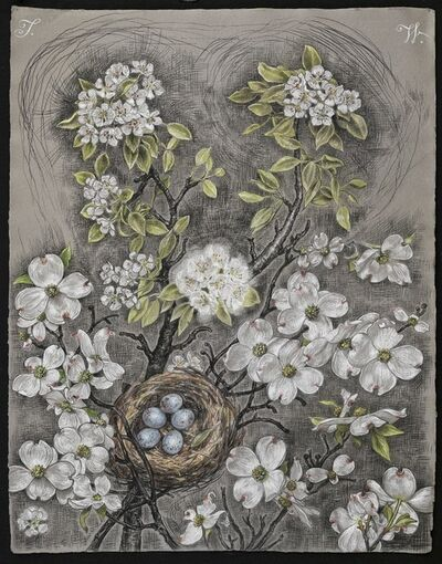 Thomas Woodruff, 'Apple and Dogwood', 2013
