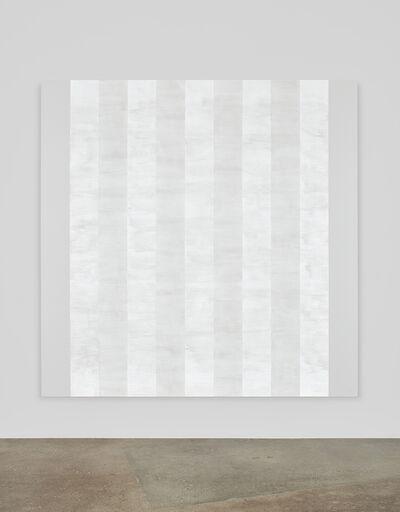 Mary Corse, 'Untitled (White Multiband with White Sides, Beveled)', 2011