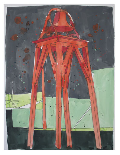 Francis Ruyter, 'Russell Lee: Bell tower. Des Lacs, North Dakota', 2016