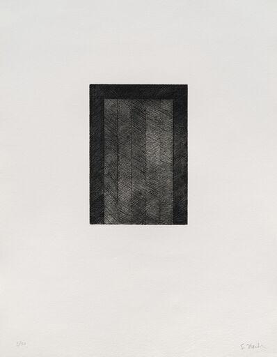 Brice Marden, '12 Views for Caroline Tatyana: one plate (L. 29h)', 1977-79