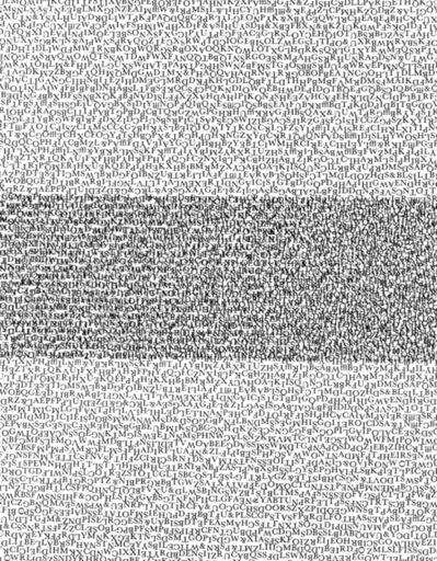 Kenneth Josephson, 'Type', 1960-printed 2014