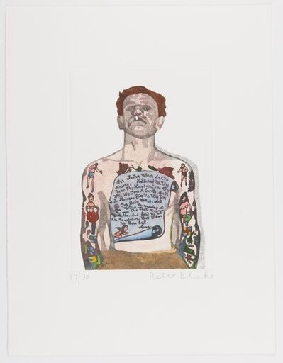 Peter Blake, 'Reverend Ricky Wreck ', 2016
