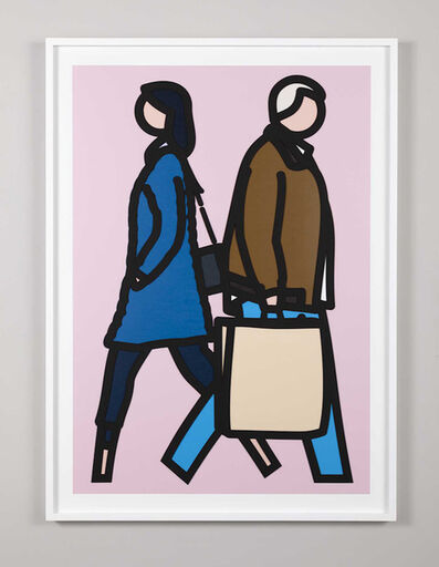 Julian Opie, 'New York Couple 3', 2019