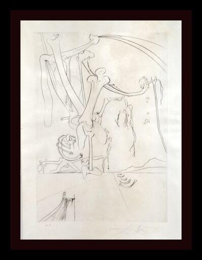 Salvador Dalí, 'Roi, je t'attends a Babylone Des Rois Pendus aux Arbes...', 1973