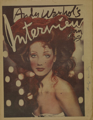 Andy Warhol, 'Interview, Marisa Berenson', 1975
