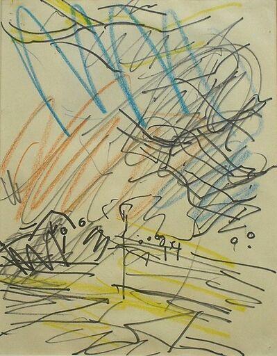 Frank Auerbach, 'Primrose Hill', 1979-1980