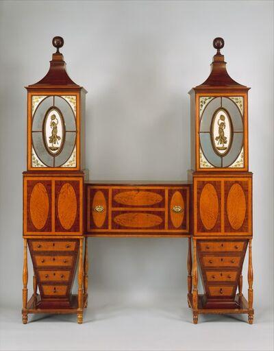 Unknown American, 'Desk and Bookcase', ca. 1811