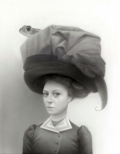 Travis Louie, 'Miss Tabitha and Her Toaded Turban', 2018
