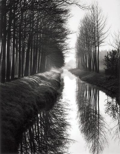 Brett Weston, 'Holland Canal', 1971