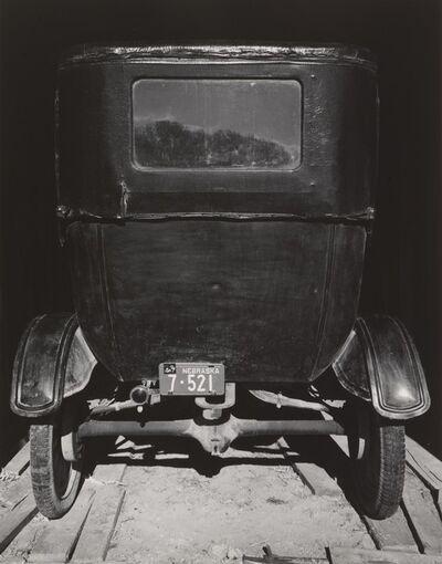 Wright Morris, 'Model T in Shed, The Home Place, near Norfolk, Nebraska', 1947
