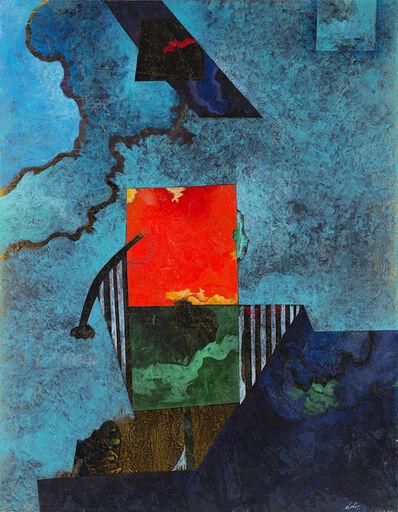 Gianni Dova, 'Riflessi nell'acqua', 1973