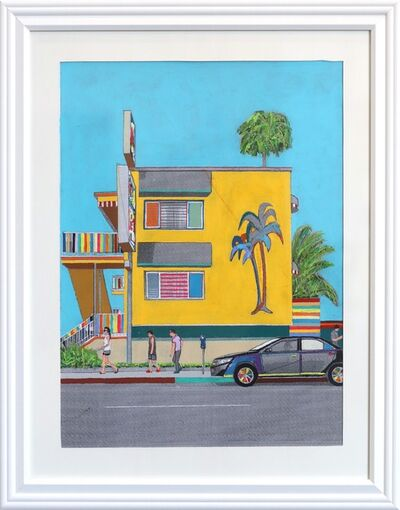 Fabio Coruzzi, 'A Motel on Ocean Avenue #6', 2019