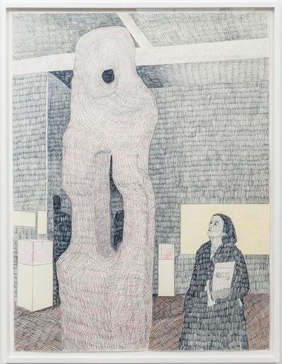 Derek Sullivan, '#119, Two figures in a room', 2017