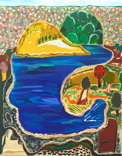Shara Hughes, 'Hook Lake', 2015
