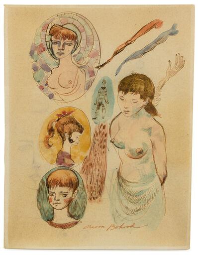 Aaron Bohrod, 'Heads and Torso', 1954