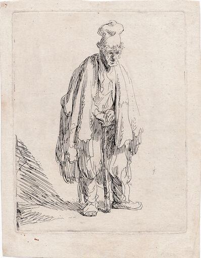 Rembrandt van Rijn, 'Beggars standing.', ca. 1631