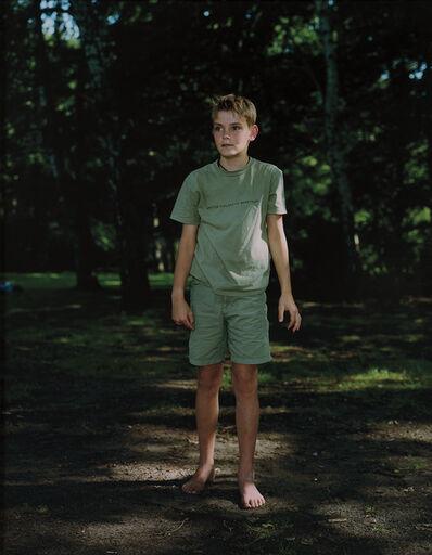 Rineke Dijkstra, 'Tiergarten Berlin, August 13', 2000