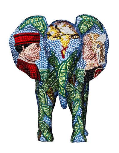 Metis Atash, 'Elephant Together', 2021