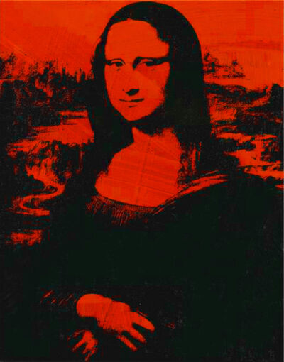 Andy Warhol, 'Mona Lisa', 1979