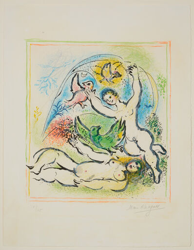 Marc Chagall, 'In the Land of the Gods', 1967