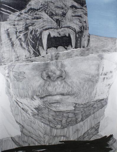 """Frédéric Malette, '""""Que les loups vivent le vent"""" #4', 2019"""