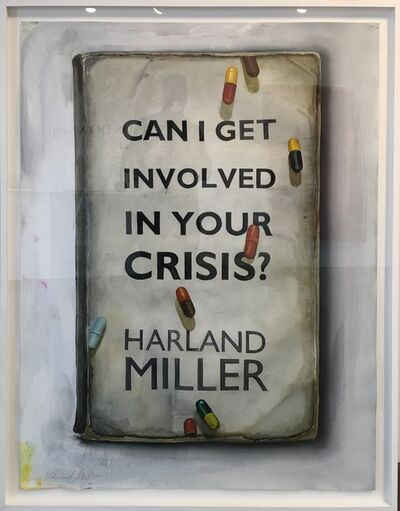 Harland Miller, 'Can I Get Involved in Your Crisis?', 2015