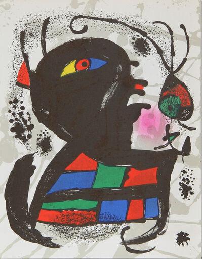 Joan Miró, 'Lithograph V (1117)', 1975