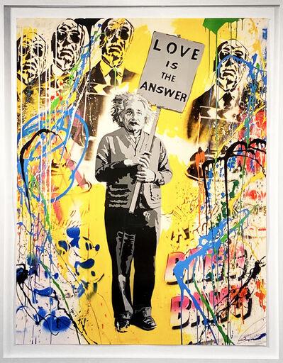 Mr. Brainwash, 'Einstein', 2015
