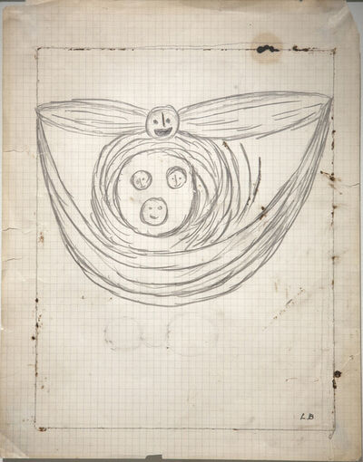 Louise Bourgeois, 'Winged Head', 1948