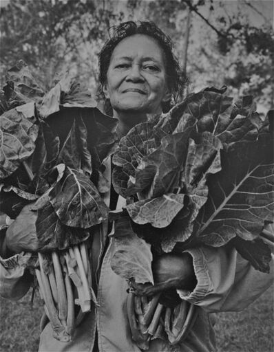 Earlie Hudnall, Jr., 'Mama with Collard Greens', 2006
