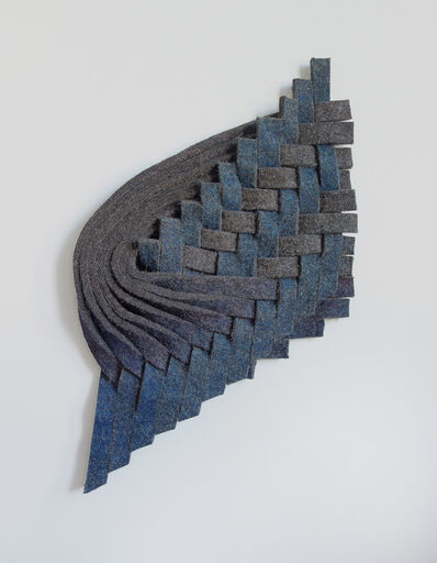 Laura Kaufman, 'Blue, Violet, Grey', 2015