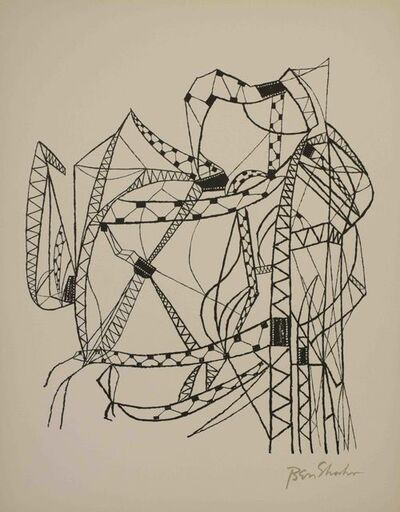 Ben Shahn, 'Many Cities from the Rilke Portfolio', 1968