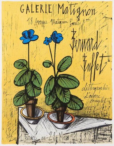 Bernard Buffet, 'Galerie Matignon. Lithograpies L'Oeuvre Complet 1959-1979', 1979