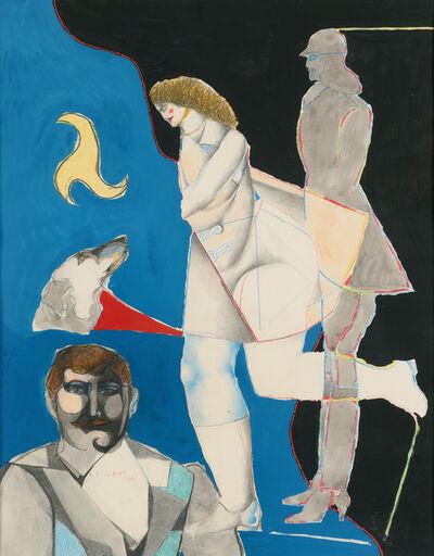 Richard Lindner, 'The Huntress', 1964