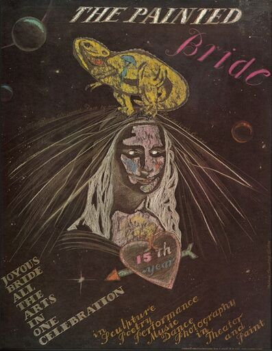 Mildred Elfman Greenberg, 'Pax in the Universe (Selected poster design commissioned by the Painted Bride)', 1984