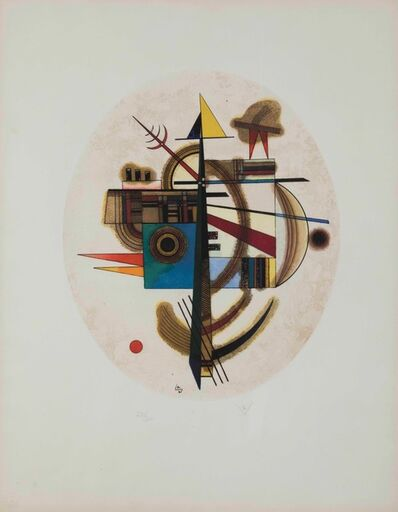 Wassily Kandinsky, 'Ovale Komposition', 1925