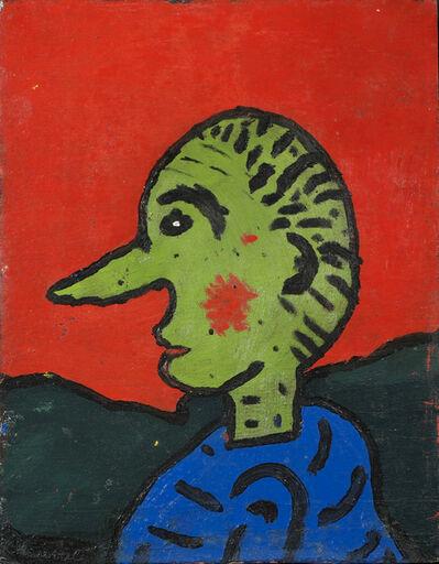 Gaston Chaissac, 'Self-portrait', 1938