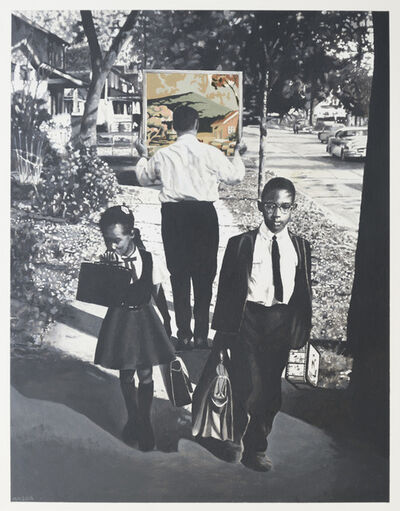 Martin Mull, 'Sidewalk', 2016