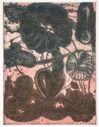 Catherine Howe, 'Garden (Daisy, Pheasant, Green on Rose)', 2019