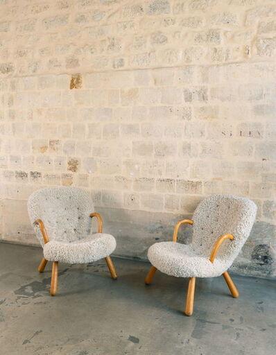 Philip Arctander, 'Modèle Clam, Paire de fauteuils', 1944