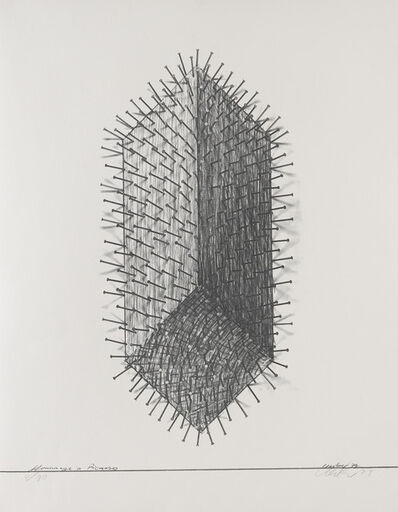 Günther Uecker, 'Hommage a Picasso', 1974