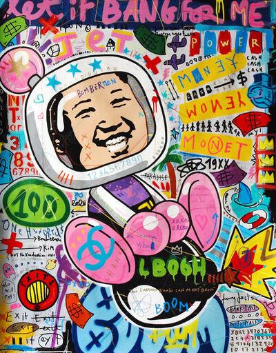 Jisbar, 'Rocket Man (Bomberkim)', 2018