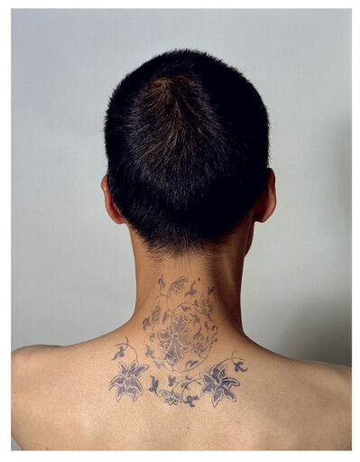 Ni Haifeng, 'Self-Portrait as Part of the Porcelain Export History 2 - neck', 1999-2001